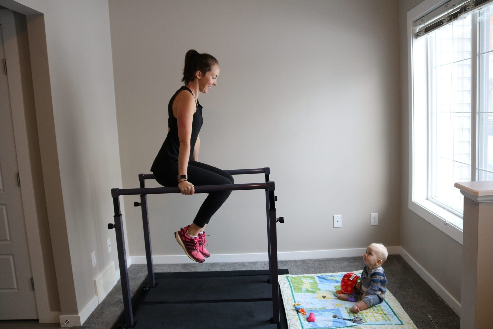 The Evolution Home Gym allows you to workout effectively at home