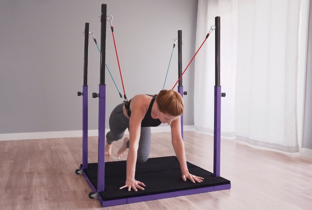 The Evolution exercise equipment makes home exercise easy and effective.